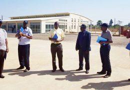 CAA Board Members at Arua Airfield