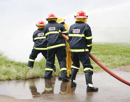 CAA-Firemen-in-action-during-a-mock-exercise-in-preparation-for-an-emergency
