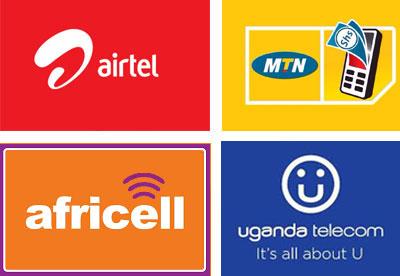 Caa-Uganda-MTN-Uganda-Uganda-Telecom-Africell-Vodafone-Smart-and-Airtel-Uganda