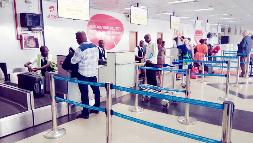 Check-in-Area-and-Airlines-at-Entebbe-Internationa-Airport