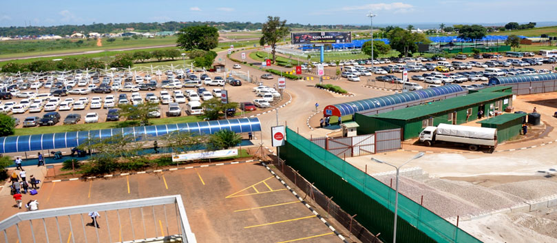 Entebbe-International-Airport-car-parking-is-automated