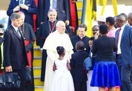 Uganda-Welcomed-Pope-Francis-on-27-November-2015